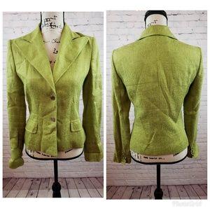 DOLCE & GABBANA Lime Green Blazer